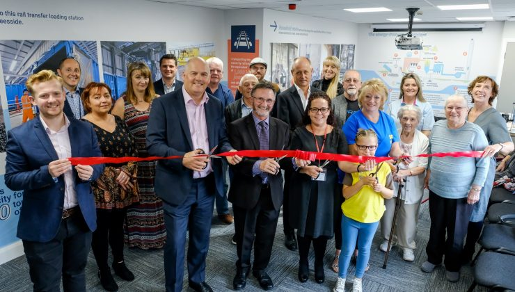 Kirkby neighbourhood community fund and visitor centre opening